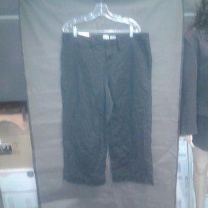 Women's High-Rise Wide Leg Cropped Pants